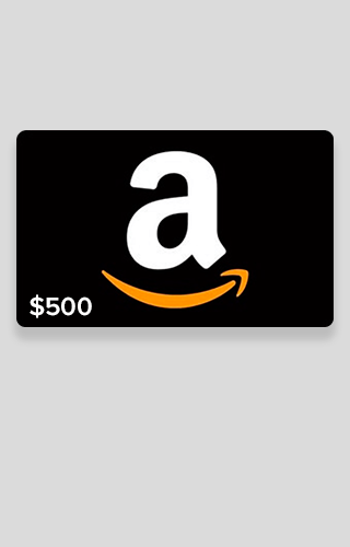 $500 Amazon.com Gift Card Sweepstakes