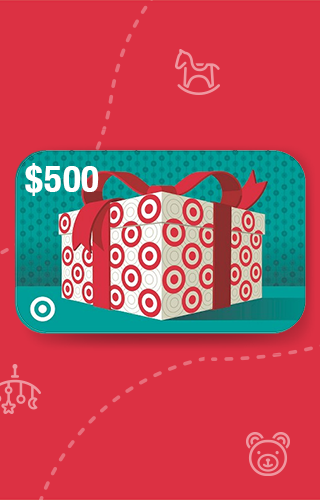 $500 Target Gift Card Sweepstakes