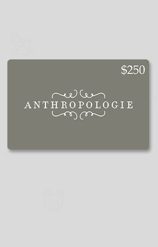 $250 Anthropologie Gift Card Sweepstakes