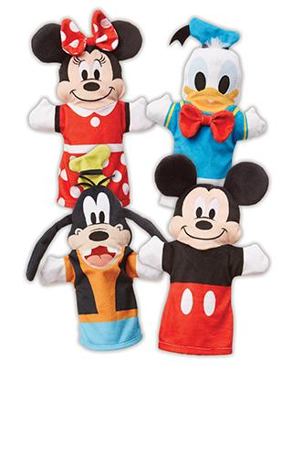 Melissa y Doug Mickey Mouse y Friends Títeres de mano suaves y tiernos