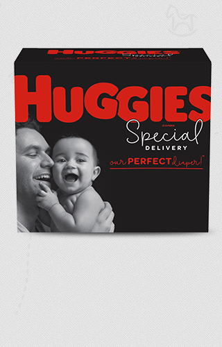 Pañales de Huggies® Special Delivery™ (disponibles en tallas N-6)
